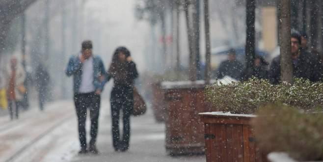 Bursa'ya kar yağışı geliyor!