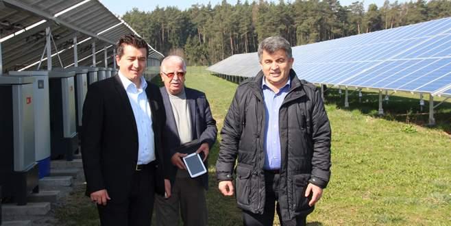 Güneş enerjisi santralinde çalışmalar başlıyor