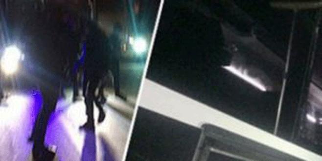 Beşiktaş takım otobüsüne taşlı saldırı