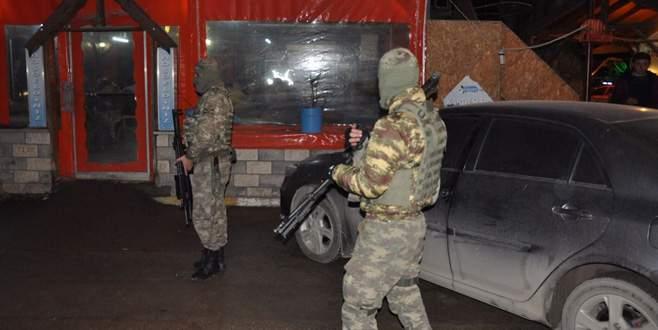 Bursa'daki huzur ve güven uygulamasında 21 gözaltı