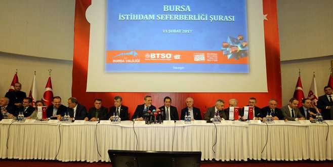 Bursa'dan 80 bin yeni istihdam