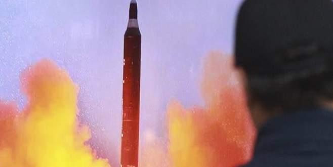 Kuzey Kore'den Japon Denizi'ne balistik füze