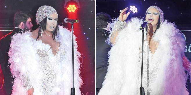 Diva'ya 40 kiloluk kıyafet