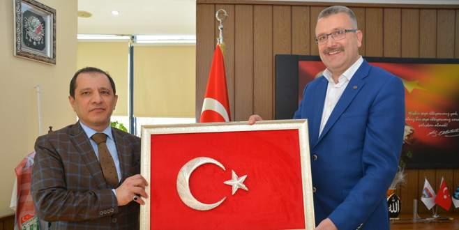 Yıldız'dan Başkan Özkan'a ziyaret