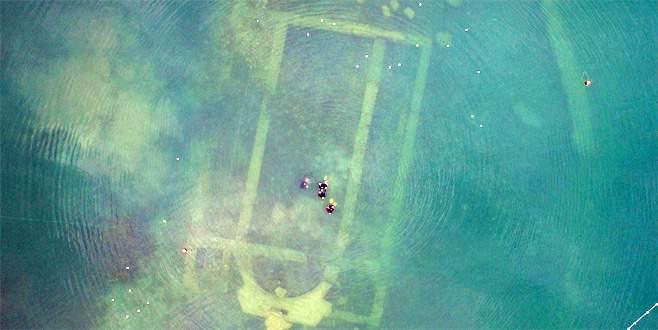 İznik Gölü'nde bazilikadan daha eski tarihi kalıntı ortaya çıktı