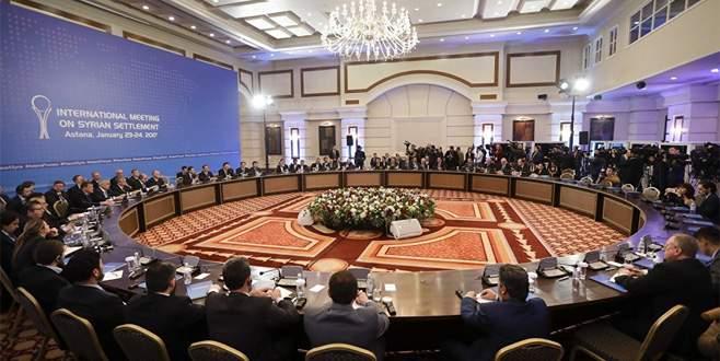 ABD'ye Astana daveti