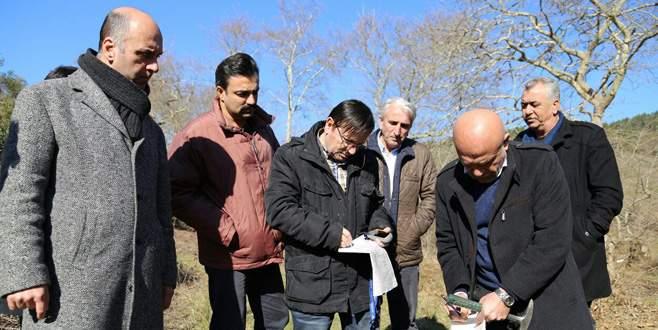 Mudanya'da gölet ve baraj için ön inceleme