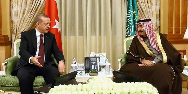 Erdoğan'dan Suudi Arabistan Kralı'na teşekkür