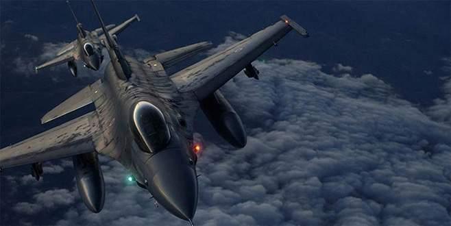 Amanos Dağları'ndaki PKK hedeflerine hava harekatı
