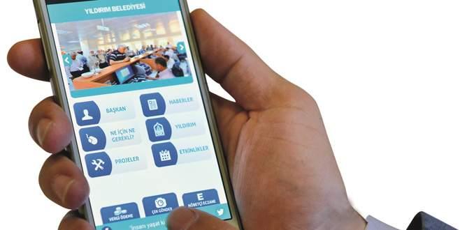 Yıldırım'da e-belediyecilik yaşamı kolaylaştırıyor