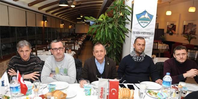 Yeşil Bursa'ya yemek morali