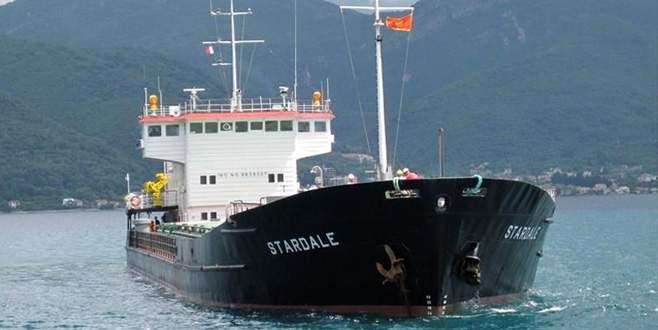 Bursa'da Kongo bandıralı gemi tehlike arz ediyor