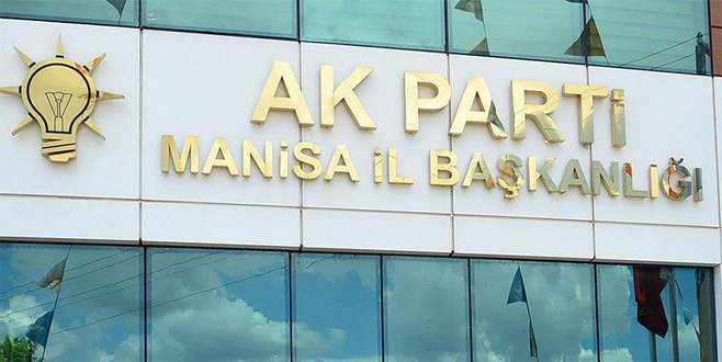 AK Parti Manisa İl Başkan Yardımcısı istifa etti