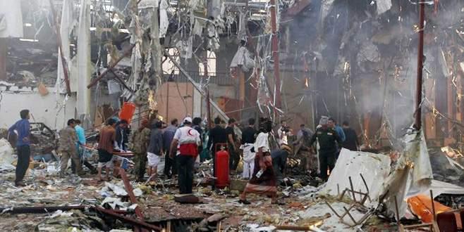 Suudi uçakları cenazeyi vurdu