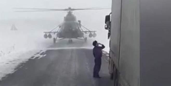 Askeri pilot gideceği yeri şoföre sordu