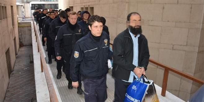 Bursa'daki DEAŞ operasyonunda 44 kişi adliyeye sevk edildi
