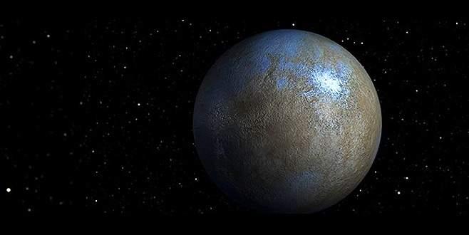 Cüce gezegen Ceres'te organik bileşkeler bulundu