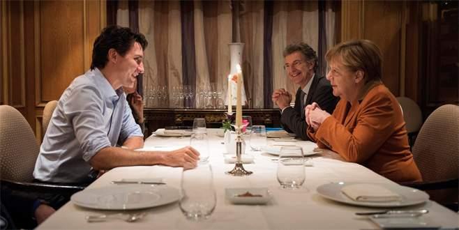 'Baş başa' akşam yemeği