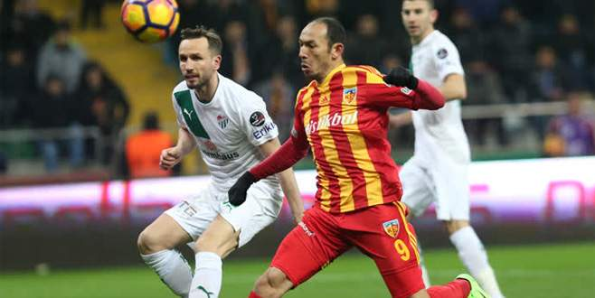 Kayserispor 2-0 Bursaspor (Maç Sonucu)