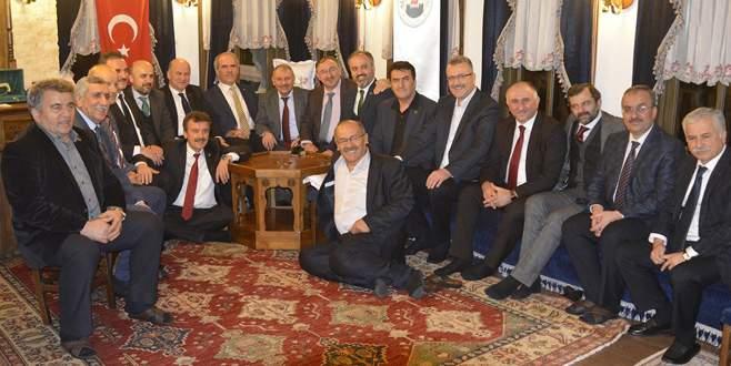 Başkanlar Kestel'de buluştu