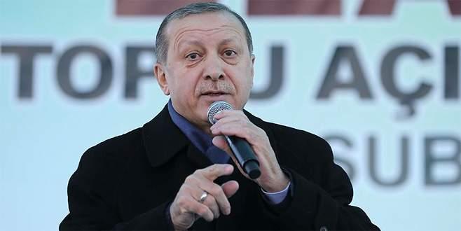Erdoğan: 'Cumhurbaşkanlığı sistemi meselesi…'