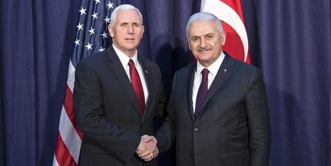 Başbakan Yıldırım, Pence ile FETÖ'yü görüştü