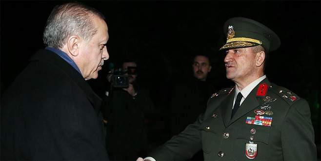 Erdoğan'dan 2. Ordu Komutanlığı'na ziyaret