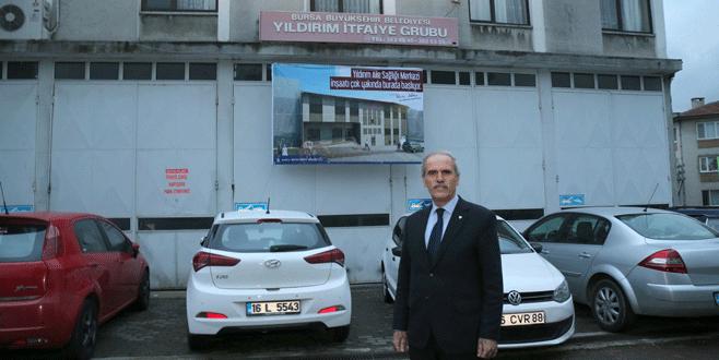Büyükşehir'den Yıldırım'a yeni sağlık ocağı