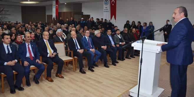 Şentop İznik'te Anayasa'yı anlattı