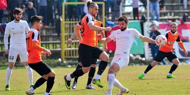Gazi'ye Düzyurt darbesi 0-1