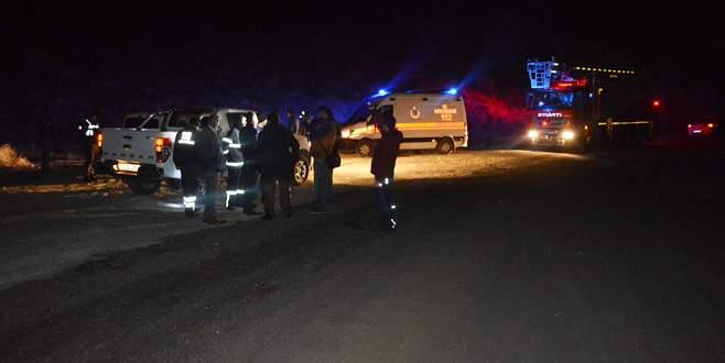 Helikopter düştü ihbarı Niğde'yi ayağa kaldırdı