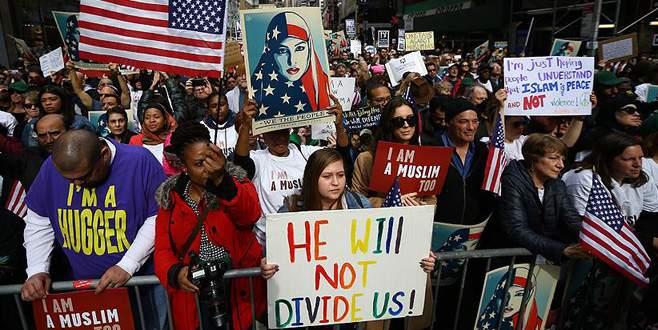 ABD'de 'Bugün ben de Müslüman'ım' eylemi