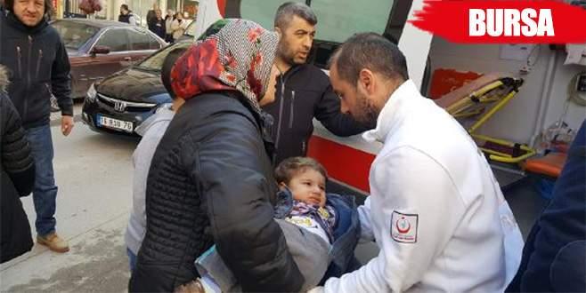 Yola fırlayan 1.5 yaşındaki Mehmet ölümden döndü