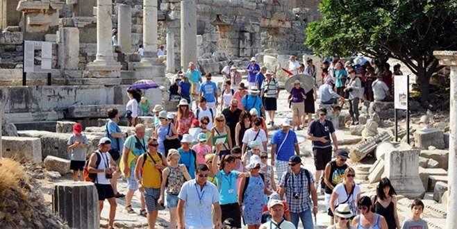 İsrail'den 400 bin turist