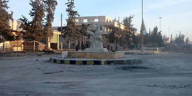 ÖSO birlikleri Bab ilçe merkezinde ilerliyor