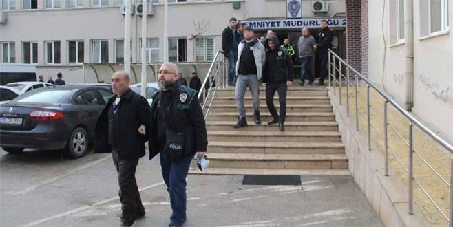 Bursa'daki uyuşturucu operasyonunda 9 tutuklama