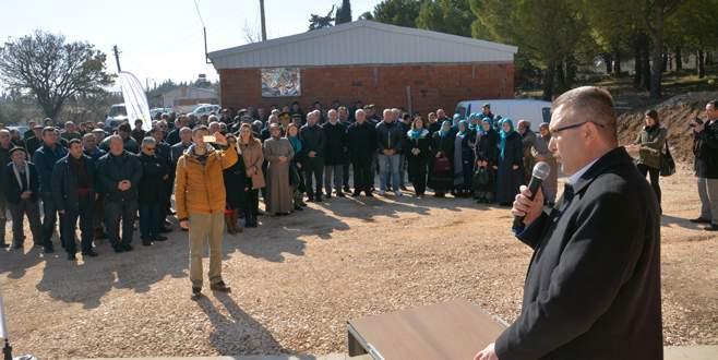 Dağkadı'ya zeytin toplama istasyonu