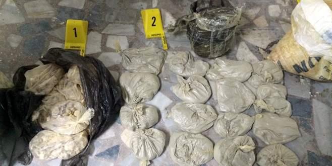 İstanbul'da 111 kilogram bomba malzemesi ele geçirildi