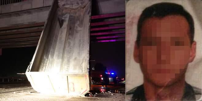 Firari TIR sürücüsü saklandığı barakada yakalandı
