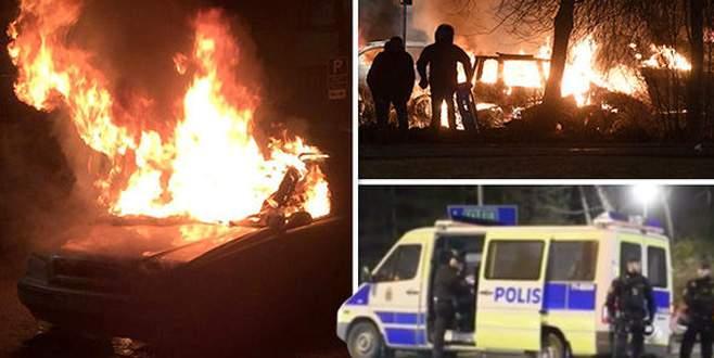 İsveç'te göçmen gerginliği