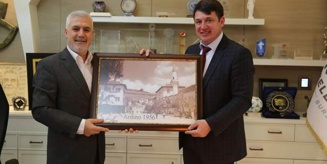 Kardeş şehir Ardino'dan Bozbey'e ziyaret
