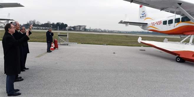 Bursa'dan uçuşlarda sıkıntı yok