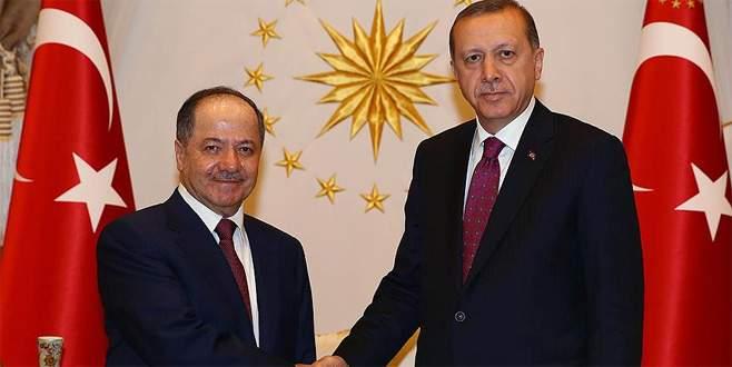 Erdoğan ile Barzani pazar günü bir araya gelecek