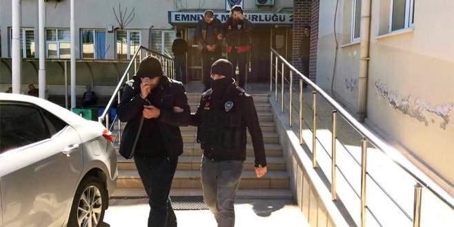 Bursa'da uyuşturucu operasyonu: 3 kişi tutuklandı