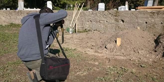 Anne baba katili sessiz sedasız gömüldü