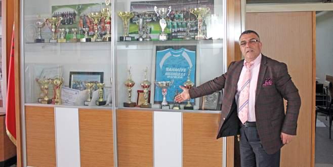 Futbolda bir marka Rahmiye Malcıoğlu