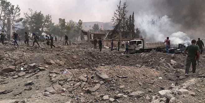 El Bab'ın kuzeyindeki ÖSO karargahına bombalı araçla saldırı