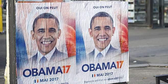 Fransızlar Obama'yı cumhurbaşkanı görmek istiyor