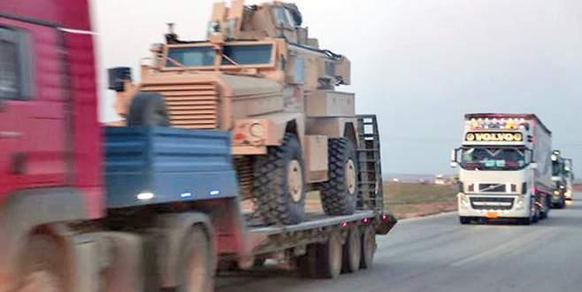 ABD'den YPG'ye zırhlı araç