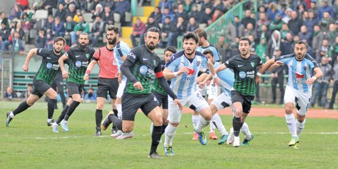 Karacabey puanı kaptı: 1-1